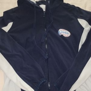 Sweaters - LA Clippers Zip Up